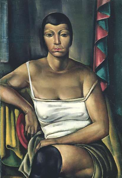 Sitting Woman, 1930 (oil on canvas)