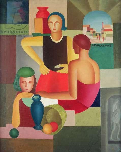 Sunday, 1924 (oil on canvas)