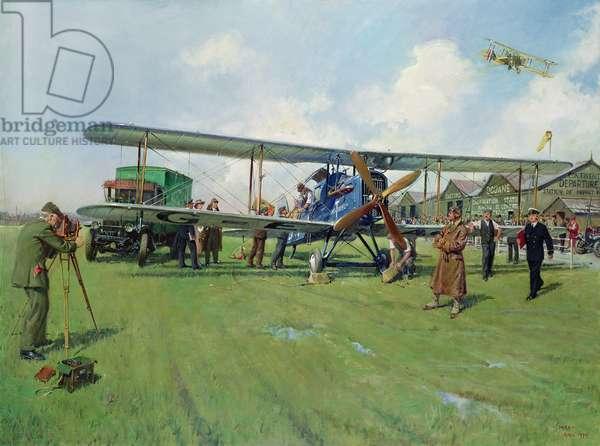 Hounslow Heath, 1979 (oil on canvas)