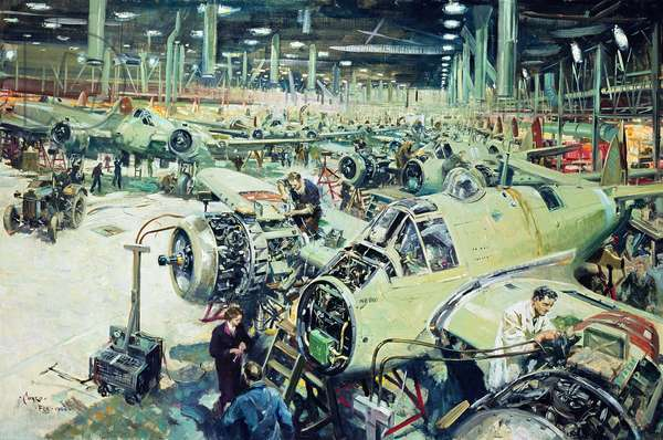 Assembly of Beaufighters