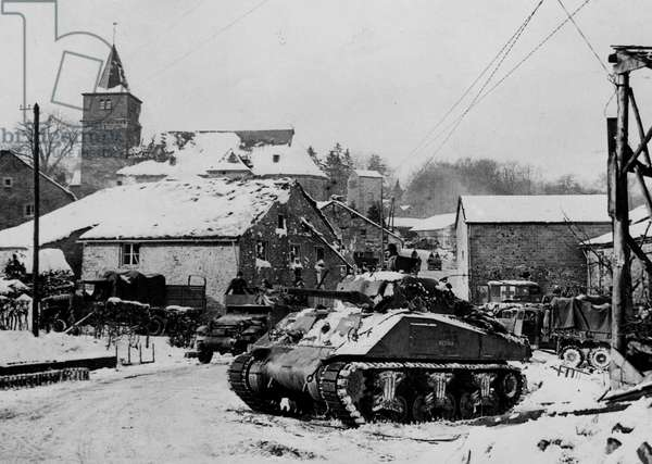 Dochamps (Belgium) Battle of the Bulge January 1945.