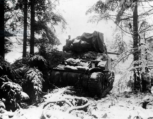 Amonines (Belgium) Battle of the Bulge January 4, 1945.