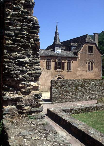 Abbey of Sainte Foy of Conques, France