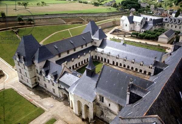 Fontevraud (formerly Fontevrault), Saint-Benoit, France.