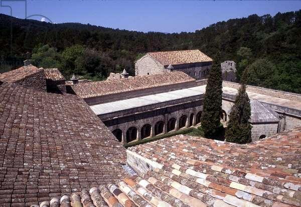 Cistercian Abbey of Thoronet (83), France.