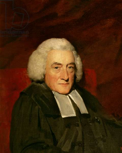 Principal William Robertson, 1794 (oil on canvas) (detail of 253438)