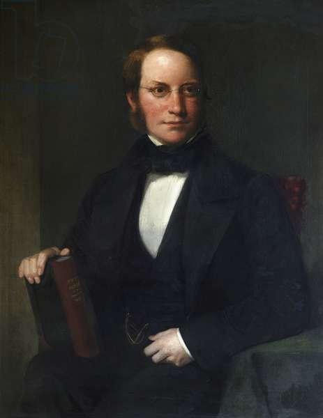 Lyon Playfair (oil on canvas)