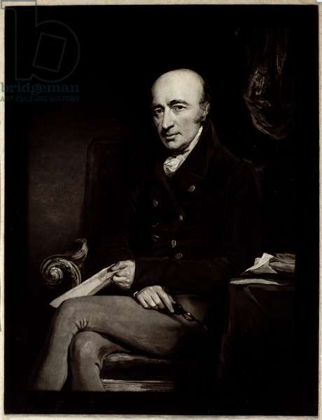 William Hyde Wollaston, engraved by W. Ward (mezzotint)
