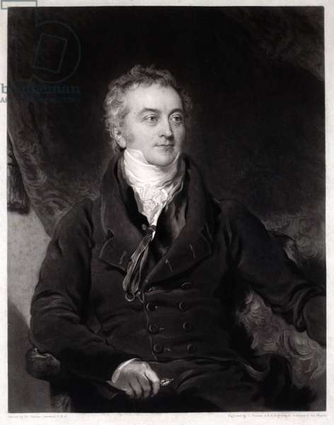 Thomas Young, engraved by Charles Turner (1774-1857) (mezzotint)