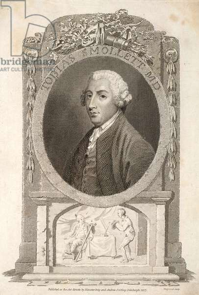 Tobias George Smollett (engraving)