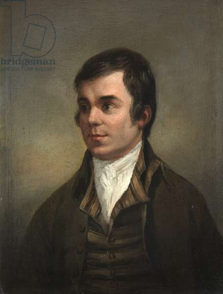 Robert Burns, c.1790 (oil on board)