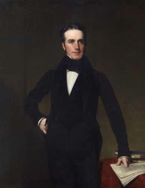 Captain Thomas Drummond, 1834 (oil on canvas)
