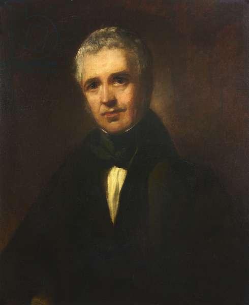 Nicholson Bain (oil on canvas)