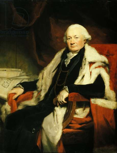 Thomas Elder, Lord Provost of Edinburgh, 1797 (oil on canvas)