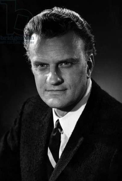 Evangelist, Billy Graham. c. 1964.