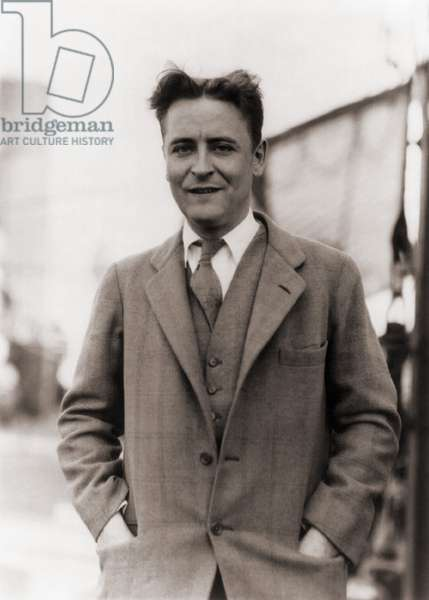 F. Scott Fitzgerald, (1896-1940) in 1928
