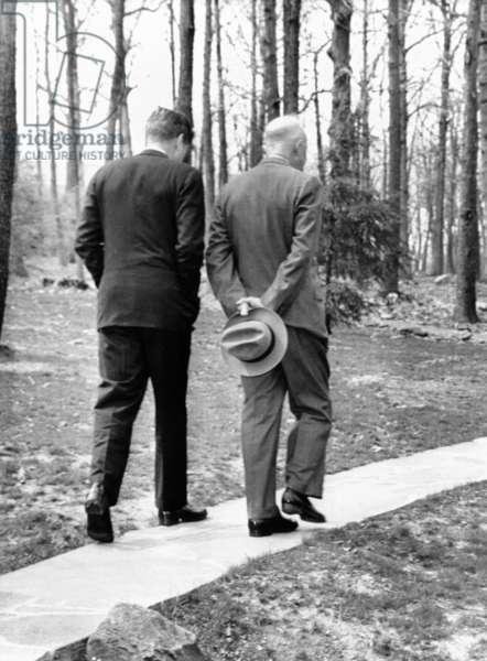 Kennedy et Eisenhower