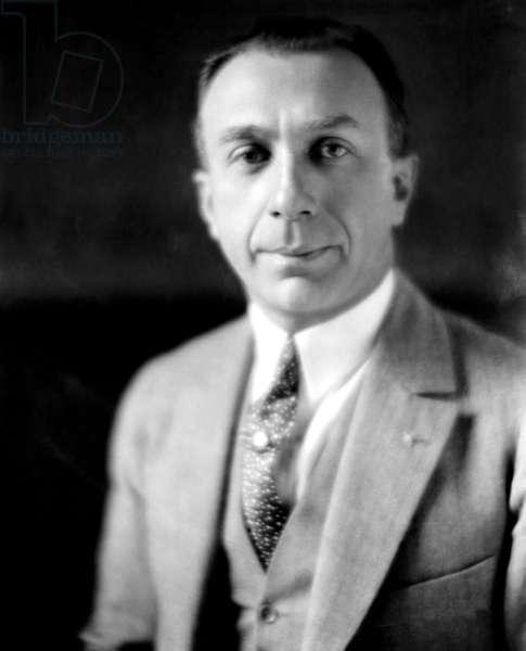Harry Warner, (1881-1958), co-founder of Warner Brothers, 1937.