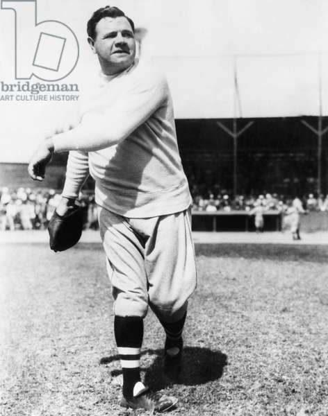 New York Yankees. Yankees outfielder Babe Ruth, c.mid 1930s