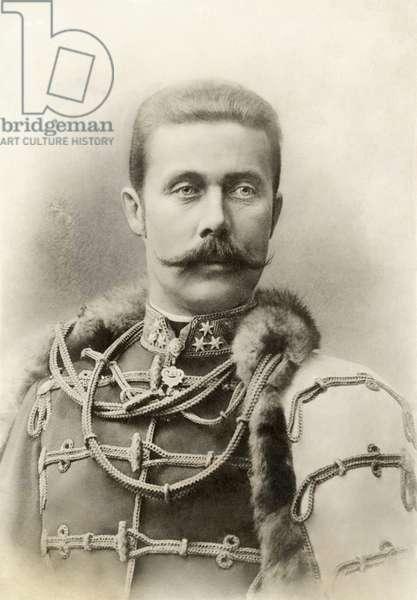 ARCHDUKE FRANZ FERDINAND, 1912