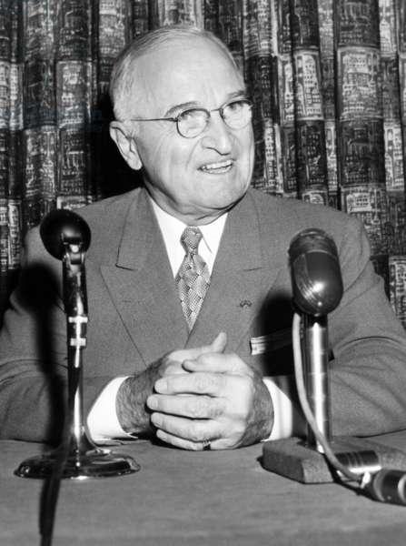 Former President Harry Truman in 1958