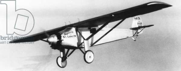 Spirit of St. Louis, the plane in which Charles Lindbergh flew from New York to Paris on May 20-21, 1927