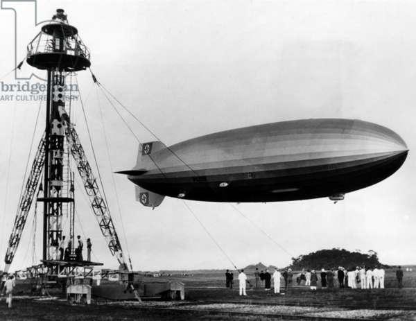 The LZ 129 Hindenburg, c.1936