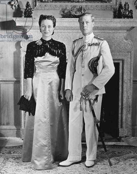 Duchess of Windsor Wallis Simpson and Prince Edward, Duke of Windsor, c.late 1930s