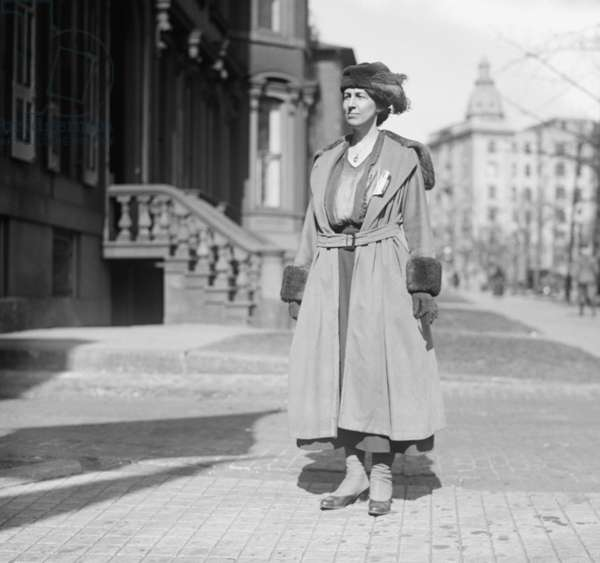 Nora Stanton Blatch (1883-1971), was the first U.S. woman to earn a degree in civil engineering and gain admission to the American Society of Civil Engineers (ASCE). She also followed her grandmother, Elizabeth Cady Stanton, as a leader in the campaign for women's rights
