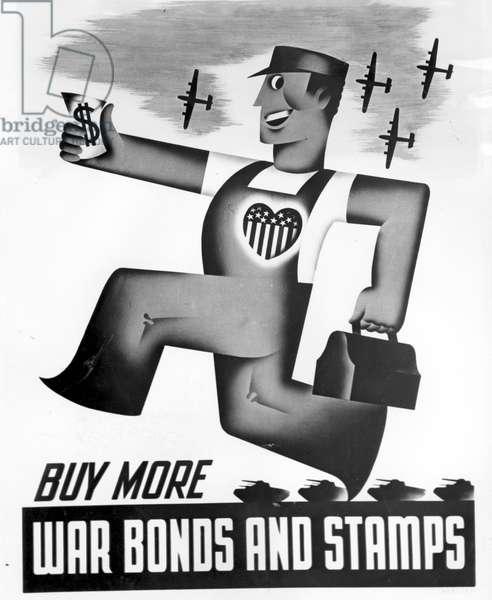 WORLD WAR II, war bond poster, New York News Bureau, 1942