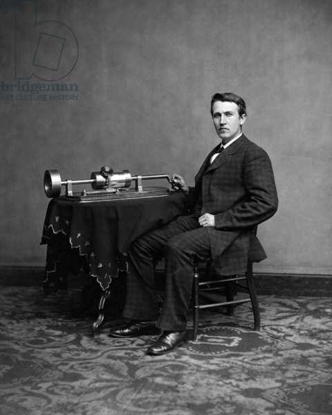 Thomas Edison, c. 1870's