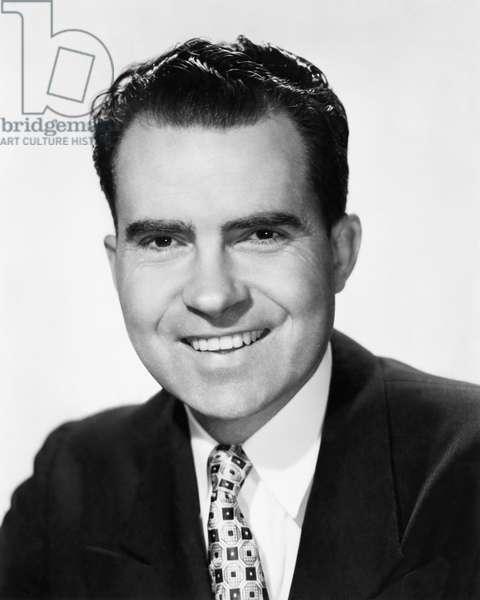 Richard Nixon. Future US President, portrait, c.early 1960s