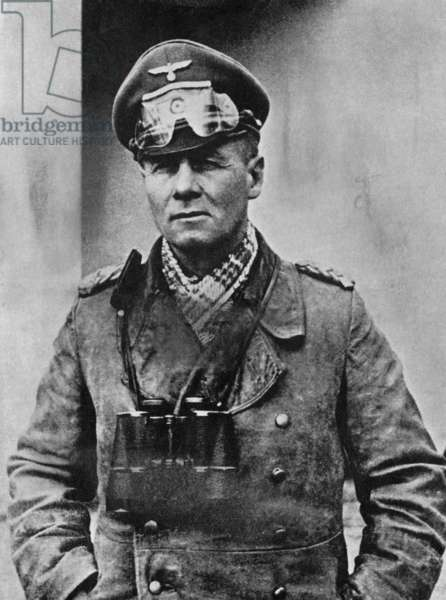 Erwin Rommel (1891-1944), distinguished Nazi General, 1940s