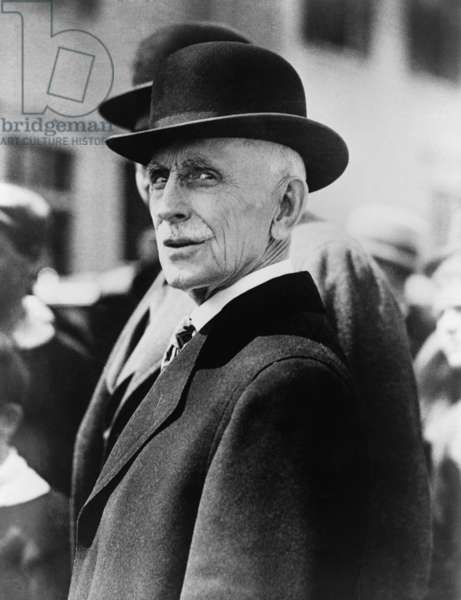 Judge Webster Thayer, sentenced Sacco and Vanzetti to be electrocuted in 1927. He allowed the trial to be tainted by the 1920s Red Scare and anti-immigrant bias