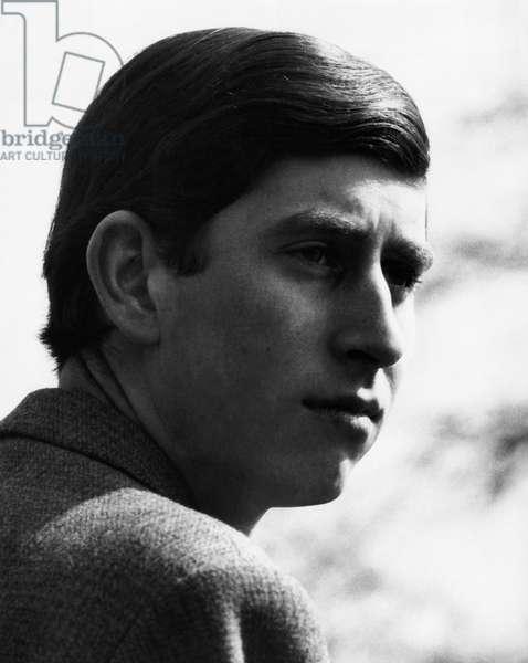 British Royalty. Future Prince of Wales Prince Charles of England, 1968