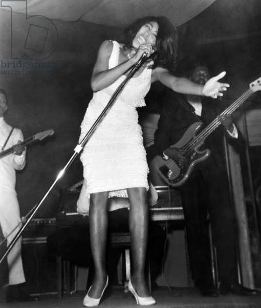 American singer Tina Turner, 1965.