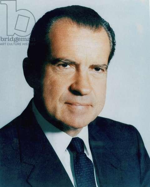 Nixon Presidency. US President Richard Nixon, c.early 1970s