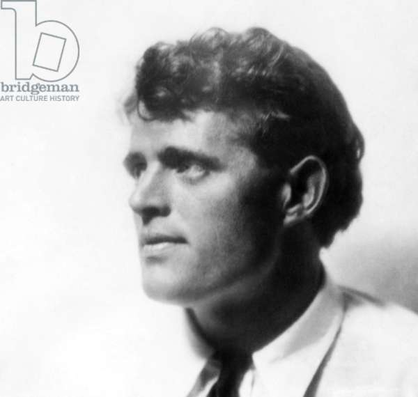 American author Jack London, (1876-1916), c. 1900.