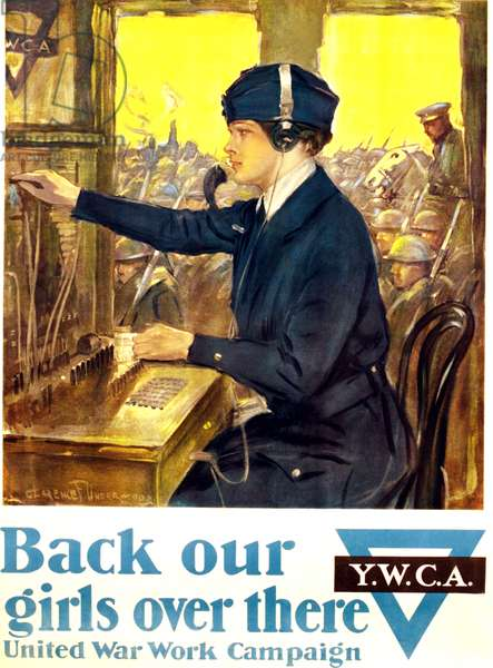 Back Our Girls Over There United War Work Campaign, 1918 (poster)
