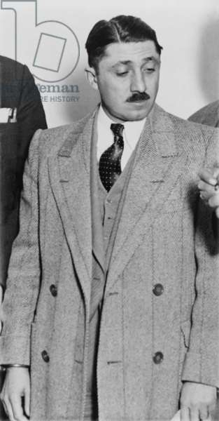 Frank Nitti 1881-1943 Chicago gangster who was convicted of tax evasion with Al Capone. He was been portrayed in several films by Sylvester Stallone in CAPONE 1975 by Stanley Tucci in ROAD TO PERDITION 2002 by Bill Camp in PUBLIC ENEMIES 2009