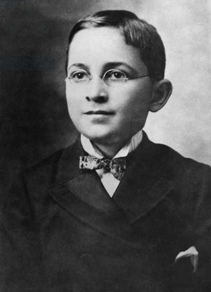 Harry Truman, the 33rd President of the U.S. at age 8. c. 1892.