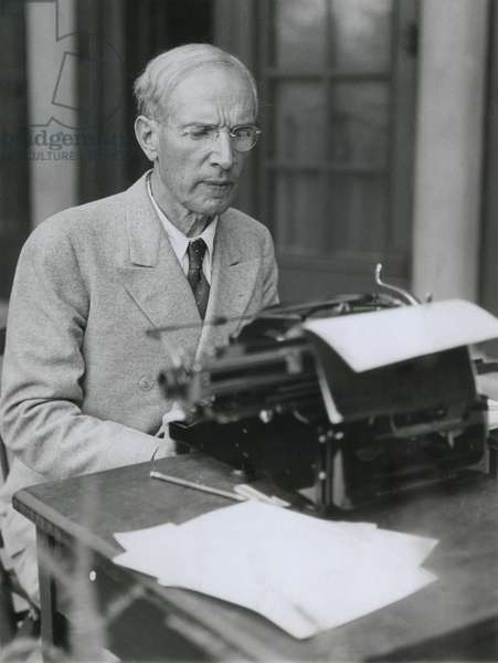 Upton Sinclair, American socialist author, of both fiction and non-fiction. Among the films based on his books are: The Jungle, 1914; Oil! 1927; The Wet Parade, 1932; The Gnomobile, 1937, There Will Be Blood, 2007