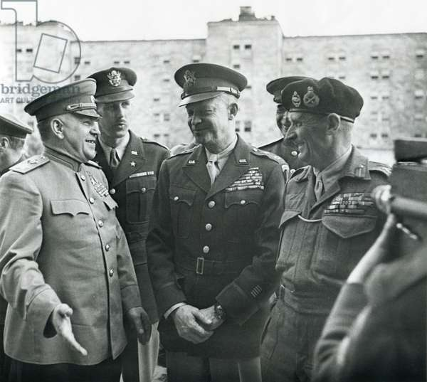 Victorious Allied Commanders, 1945