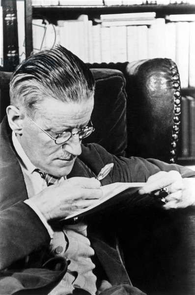 James Joyce, author.