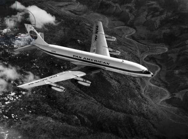 Pan American's Boeing 707-121, c.1955