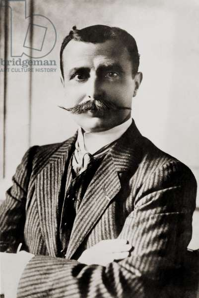 Louis Bleriot was the first man to fly the English Channel, winning the £1,000 prize offered by the London Daily Mail. Bleriot became a successful airplane manufacturer, specializing in monoplanes