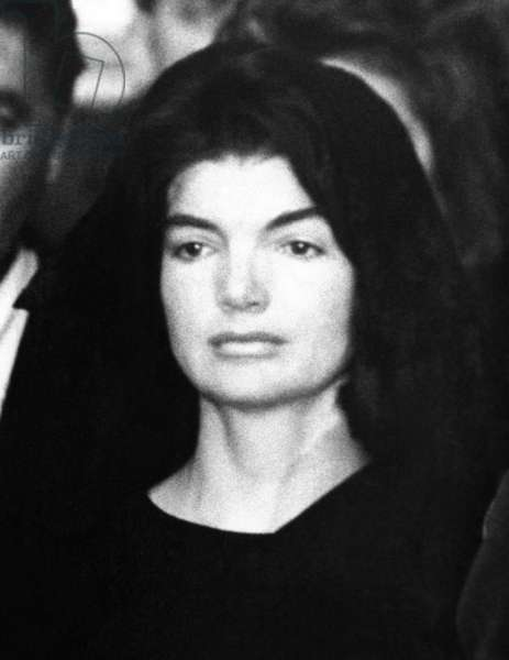 Jacqueline Kennedy at the lying in state ceremonies for her assassinated husband, President John Kennedy. Nov. 24, 1963