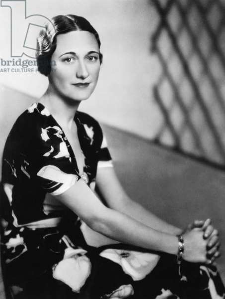 Future Duchess of Windsor Wallis Simpson, 1936
