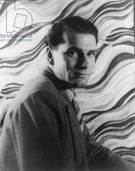Laurence Olivier, portrait by Carl Van Vechten, June 17, 1939
