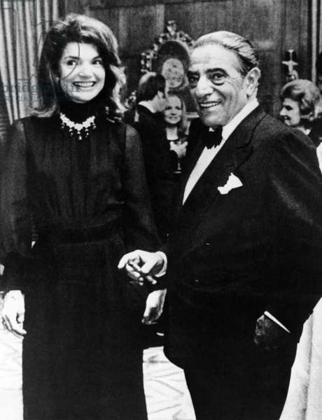 Jacqueline Onassis and Aristotle Onassis, 1971